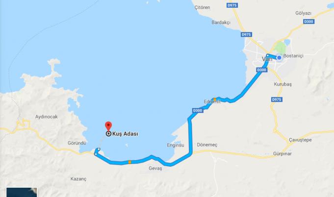 Van Kuş Adası Nerede, Nasıl Gidilir?