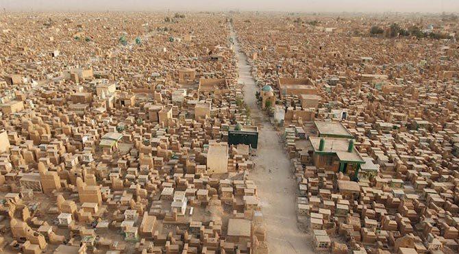 Wadi-us-Salaam (Barış Vadisi) Mezarlığı