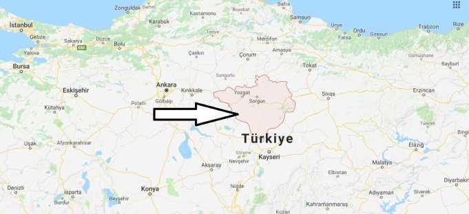 Yozgat Nerede, Hangi Bölgede ve Nüfusu