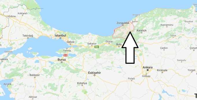 Zonguldak Hangi Bölgede, Nereye Bağlı ve Nüfusu
