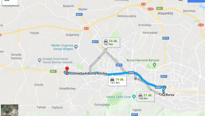 Özdilek Park Bursa Nerede, Nasıl Gidilir?