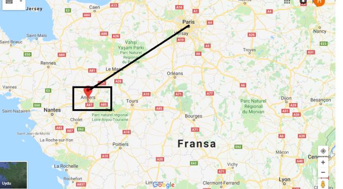 Angers Nerede, Hangi Ülkede?