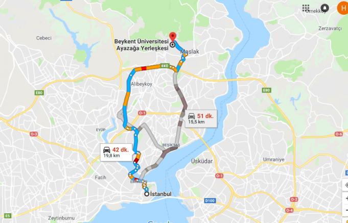 Beykent Üniversitesi Nerede, Nasıl Gidilir ve Hangi Şehirde?