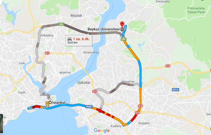 Beykoz Üniversitesi Nerede, Nasıl Gidilir ve Hangi Şehirde?