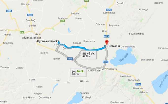 Bolvadin Nerede, Nerenin İlçesi ve Hangi Bölgede Şehirde