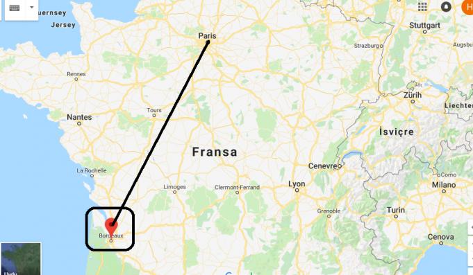 Bordeaux Nerede, Hangi Ülkede?