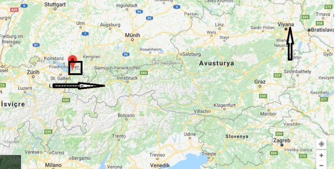Bregenz Nerede, Hangi Ülkede?