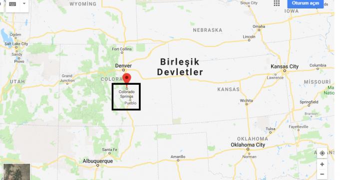 Colorado Springs Nerede, Hangi Ülkede?