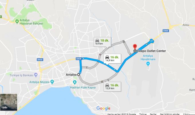 Deepo Avm /Outlet Nerede, Nasıl Gidilir?
