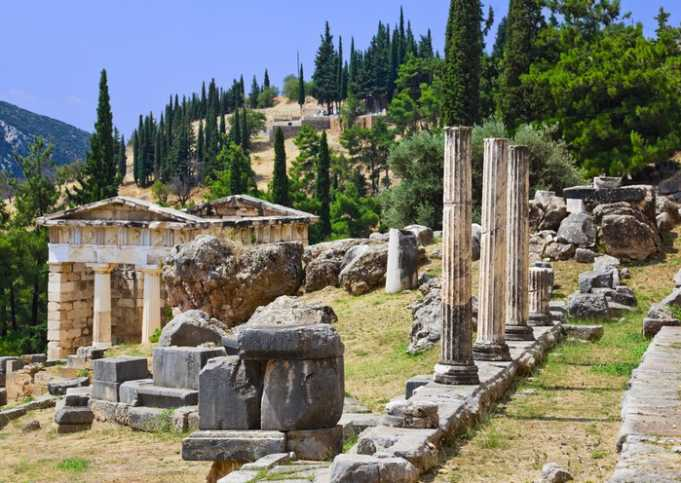 Delphi Harabeleri