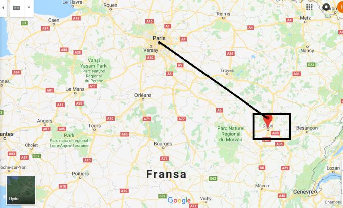 Dijon Nerede, Hangi Ülkede?