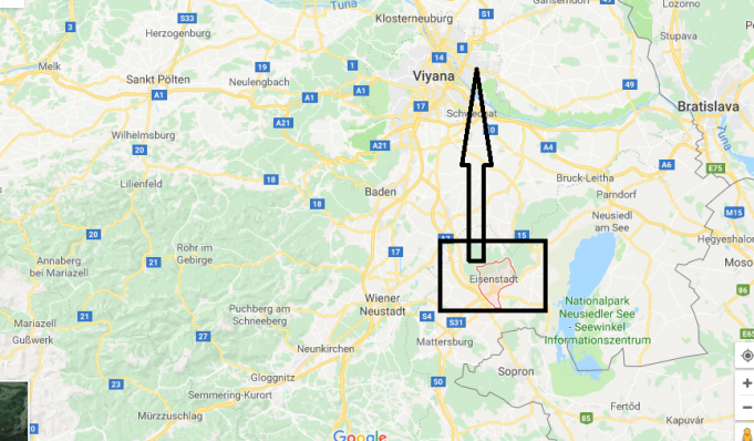Eisenstadt Nerede, Hangi Ülkede?