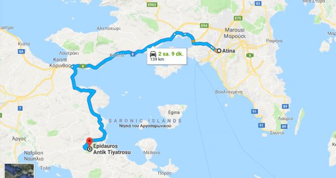 Epidaurus Antik Tiyatrosu Nerede, Nasıl Gidilir?