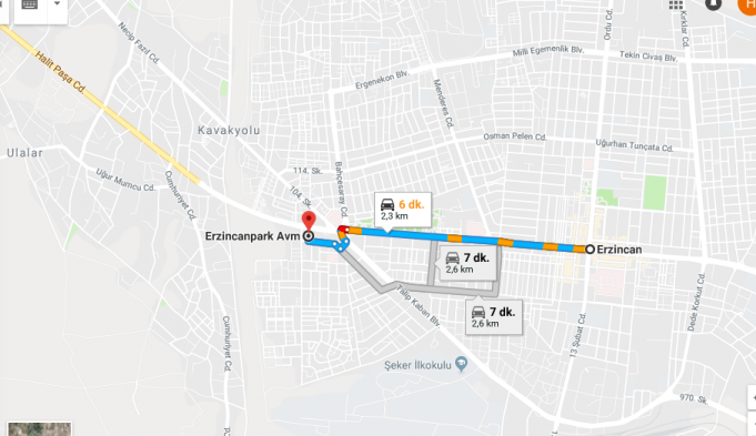 Erzincan Park AVM Nerede, Nasıl Gidilir?