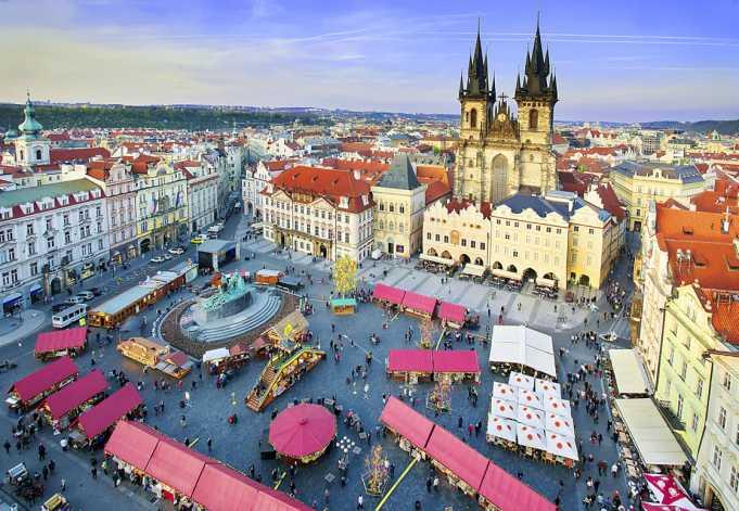 Eski Şehir Meydanı pazarı(Old Town Square Market)