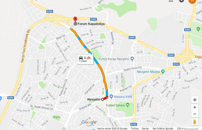 Forum Kapadokya Avm Nerede, Nasıl Gidilir?