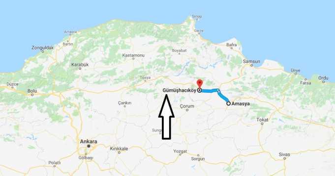 Gümüşhacıköy Nerede, Nerenin İlçesi ve Hangi Bölgede Şehirde