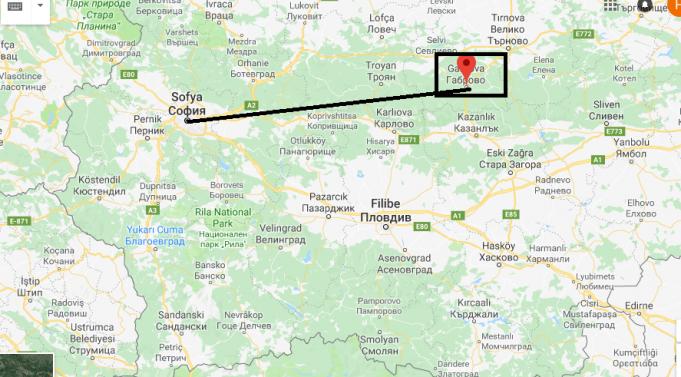 Gabrova Nerede, Hangi Ülkede?