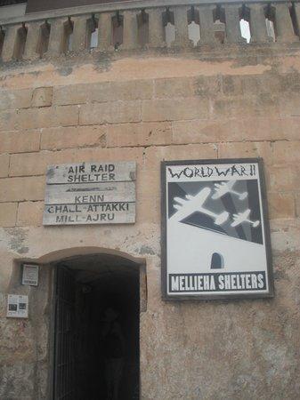 Mellieha Hava Saldırısı Sığınağı