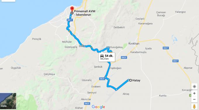 PrimeMall İskenderun Avm Nerede, Nasıl Gidilir?