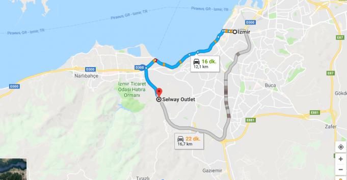 Selway Avm /Outlet Nerede, Nasıl Gidilir?