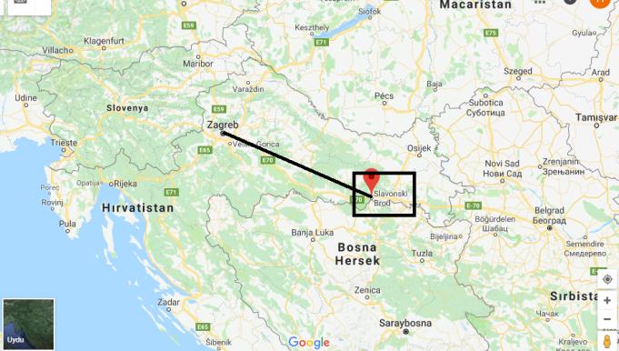 Slavonski Nerede, Hangi Ülkede