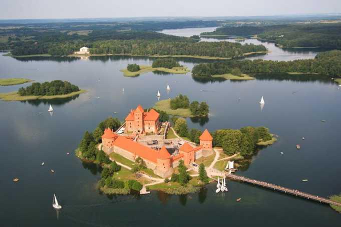 Trakai Adası Kalesi