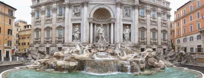 Trevi Çeşmesi(Roma Aşk Çeşmesi)