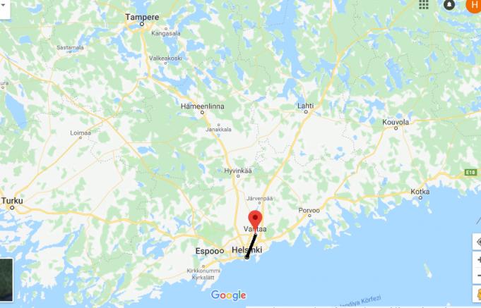Vantaa Nerede, Hangi Ülkede?