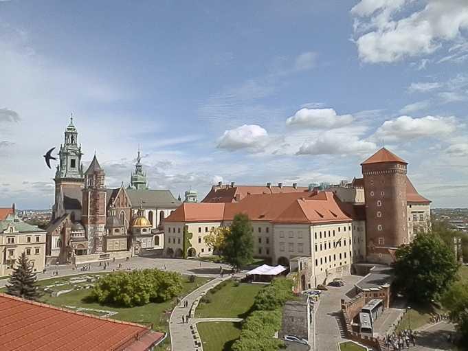 Wawel Kraliyet Kalesi