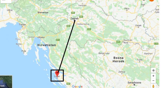 Zadar Nerede, Hangi Ülkede?