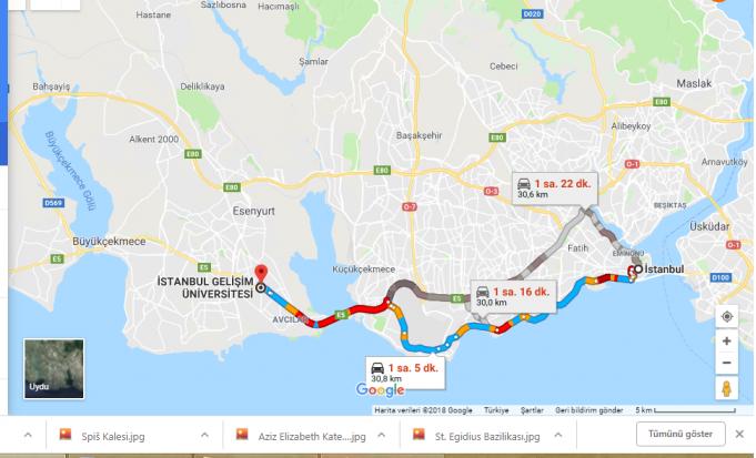 İstanbul Gelişim Üniversitesi Nerede, Nasıl Gidilir?