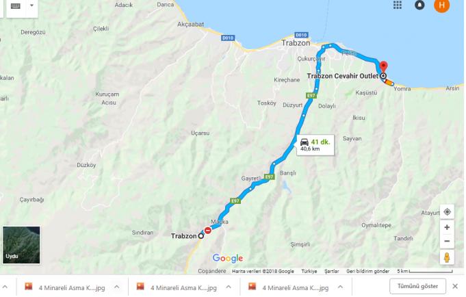 Trabzon Cevahir /Outlet Nerede, Nasıl Gidilir?