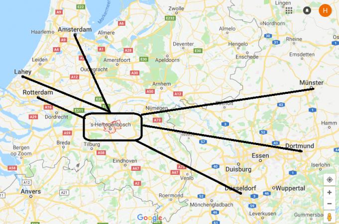 's-Hertogenbosch Nerede, Hangi Ülkede?