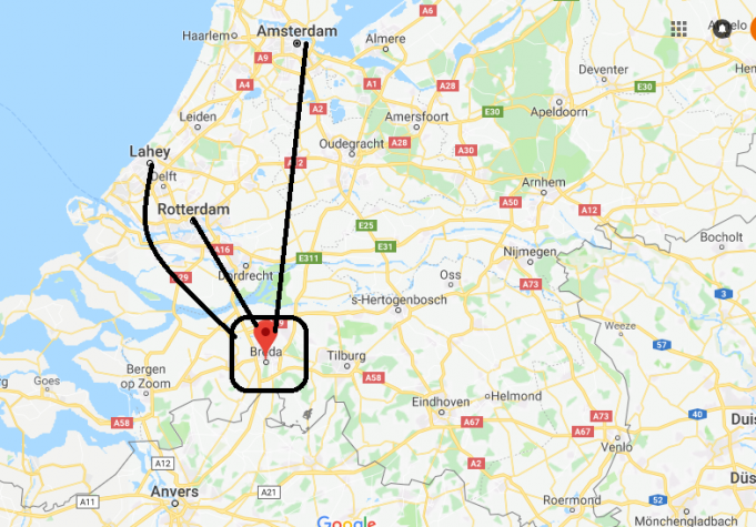 Breda Nerede, Hangi Ülkede?