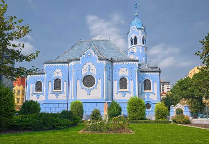 Bratislava St. Elizabeth / Mavi Kilise