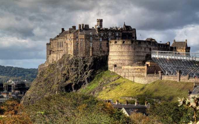 Edinburgh Kalesi
