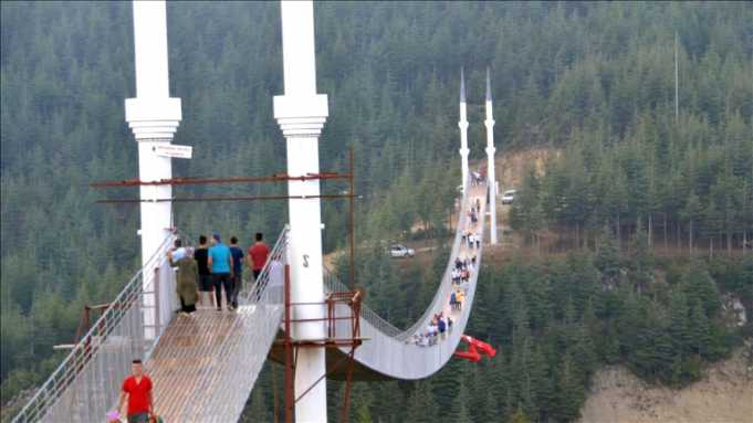 4 Minareli Asma Köprü Maraş