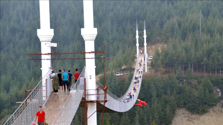 4 Minareli Asma Köprü Andırın
