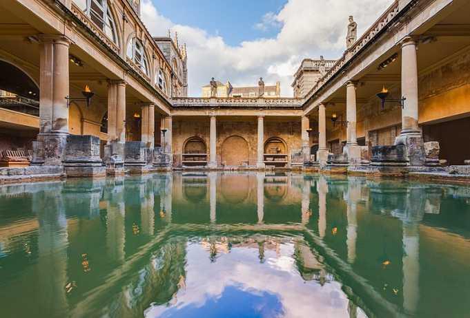 Roma Hamamları: Roma Hamamları Müzesi, Bath, İngiltere