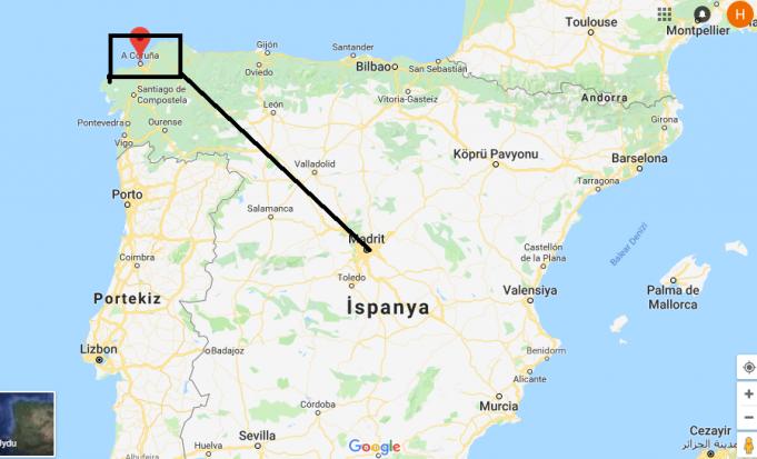 A Coruña Nerede, Hangi Ülkede?