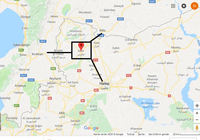 Afrin Nerede, Hangi Ülkede?