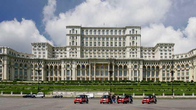 Bükreş Parlamento Sarayı