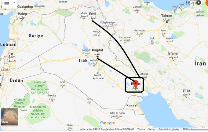 Basra Nerede, Hangi Ülkede?