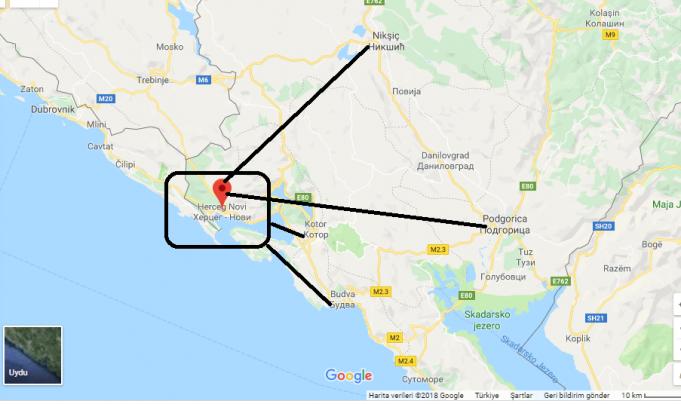 Herceg Novi Nerede, Hangi Ülkede?
