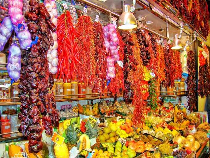 Mercat de La Boqueria Pazarı