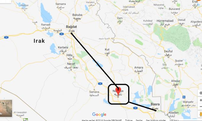 Nasiriye Nerede, Hangi Ülkede