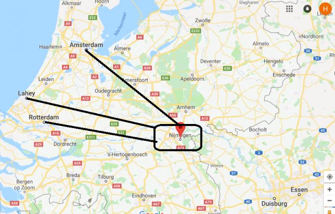 Nijmegen Nerede, Hangi Ülkede?