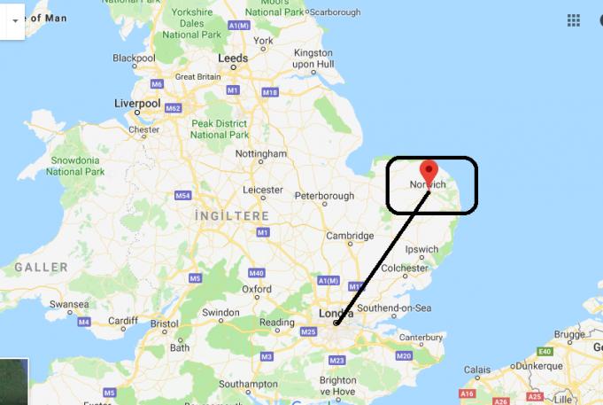 Norwich Nerede, Hangi Ülkede?