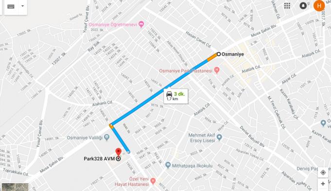 Park 328 Avm Nerede, Nasıl Gidilir?